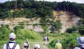 火山テーマに仙台の大地の歴史巡る/地質学会、初のアウトリーチ巡検