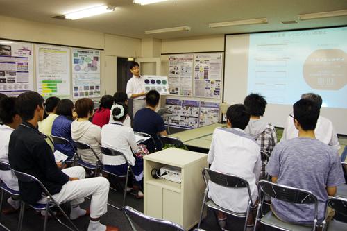 戸津健太郎准教授(東北大学マイクロシステム融合研究開発センター)による説明