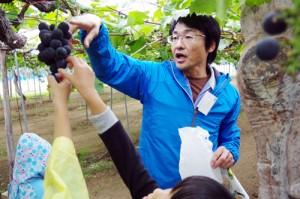 「果樹園を探索しよう!」のようす