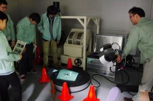 フィギアの3次元画像を計測