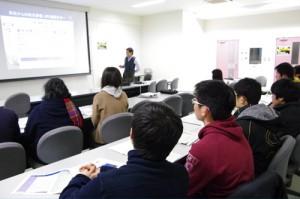 仙台二高物理部の生徒ら13名が参加