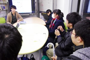 仙台二高出身で同研究室配属の学生と懇親