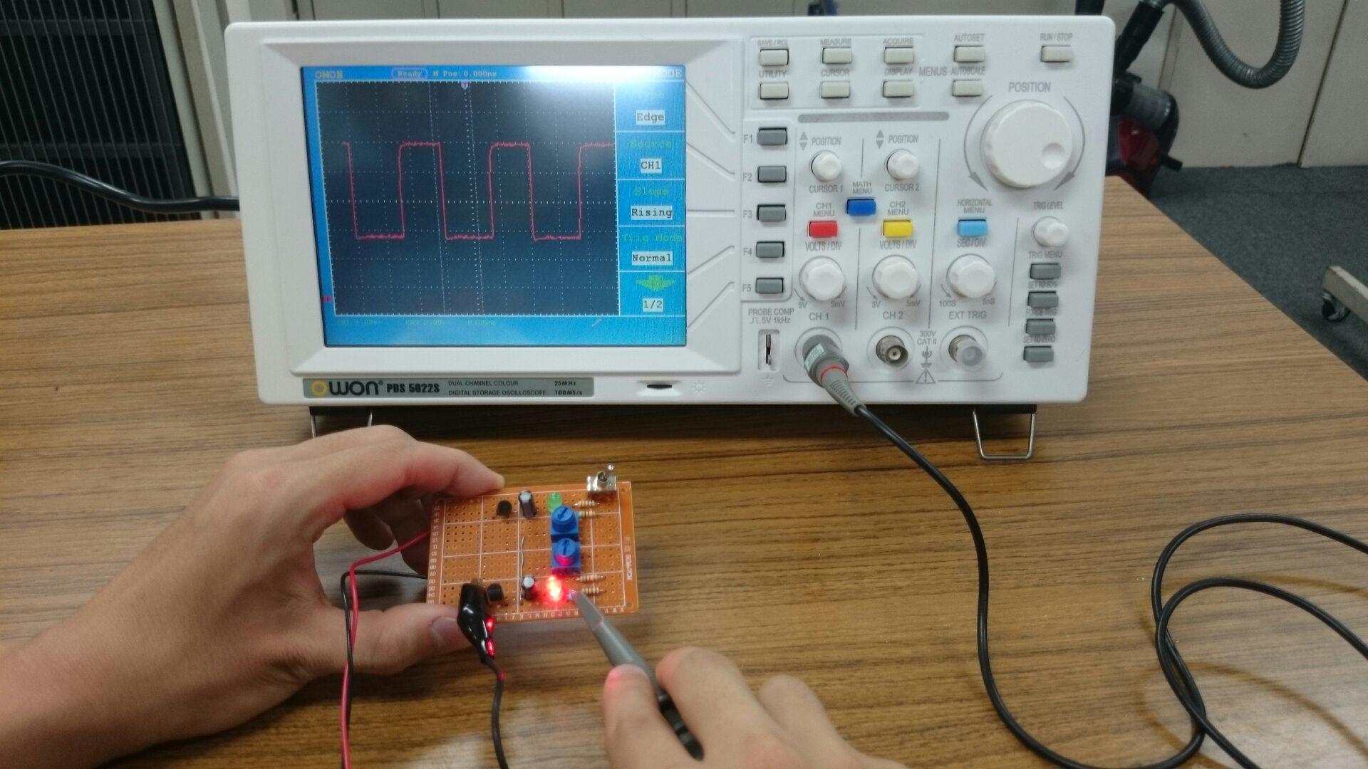 3.電気を可視化してみよう!~デジタルオシロスコープによる交流波形計測~