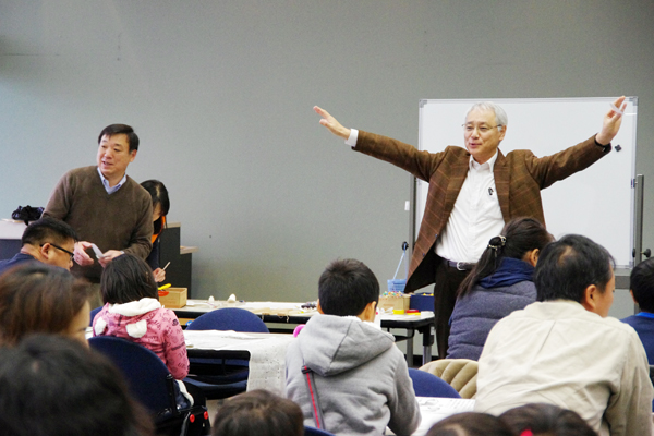 講師を務めた小田浩一さん(右)と那須博さん(左)
