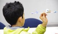 「飛行機」テーマに工作教室やサイエンスショー/仙台市科学館「人力飛行機」開展式