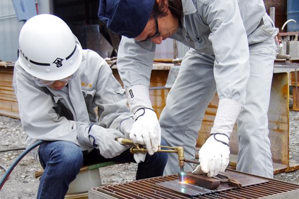 【11】船をつくる技術で鉄を曲げてオリジナル作品をつくろう(株式会社 髙橋工業)