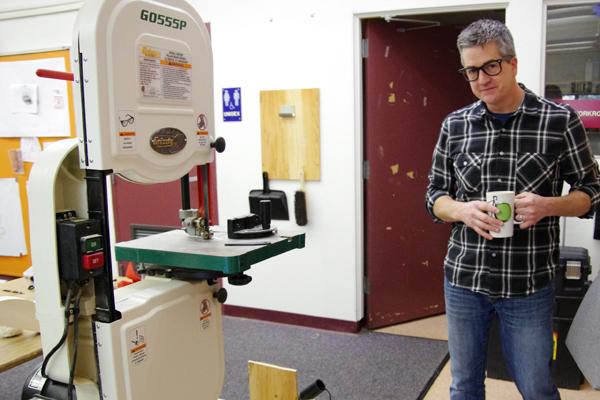 【写真7】RSAの教室には様々な試作品製作用加工装置があった