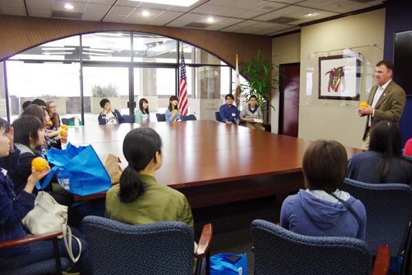 【写真10】リバーサイド市長を表敬訪問