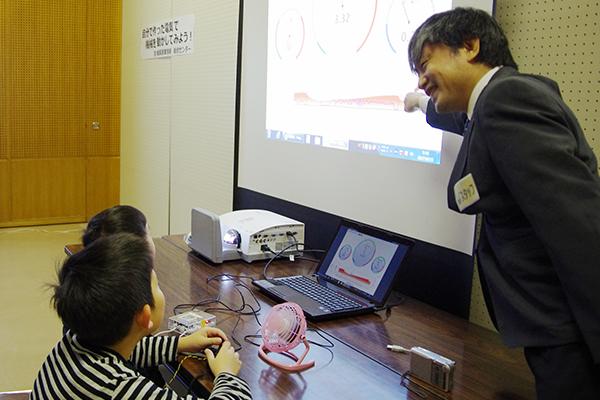 2.自分で作った電気で機械を動かしてみよう! (宮城県産業技術総合センター)
