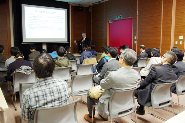 「natural science 科学・技術講座」科学者による特別講演会のようす=2019年12月22日(日)開催